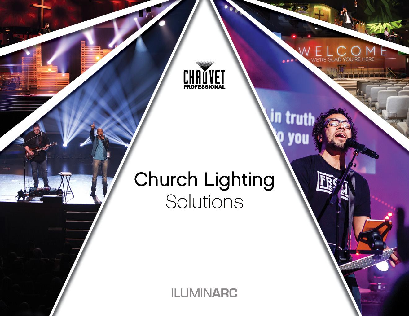 Chauvet Professional Church Lighting Solutions Brochure