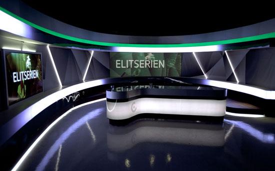 COLORdash Batten TRI Lights TV Studio in Sweden | CHAUVET
