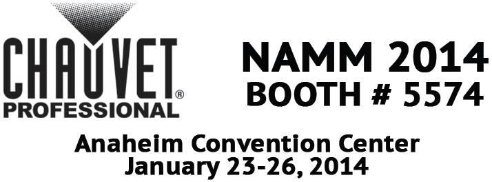 NAMM2014-chauvet-professional