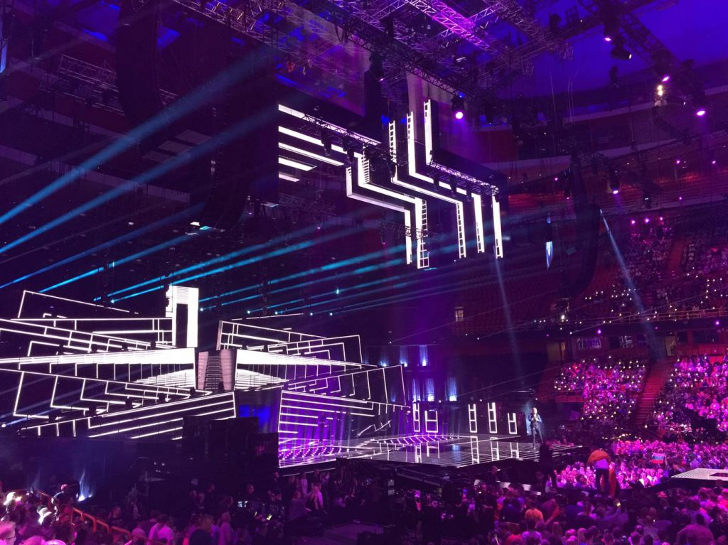 Eurovision Song Contest stage