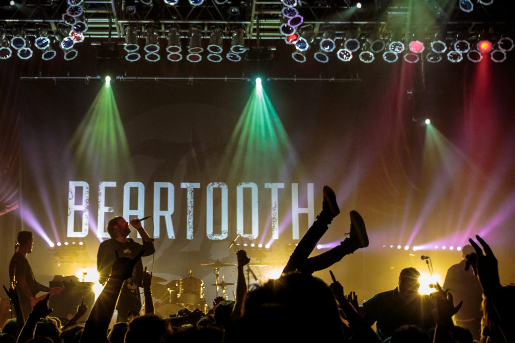 Beartooth at House of Blues Chicago // 10.2.16 // By Sarah Hess