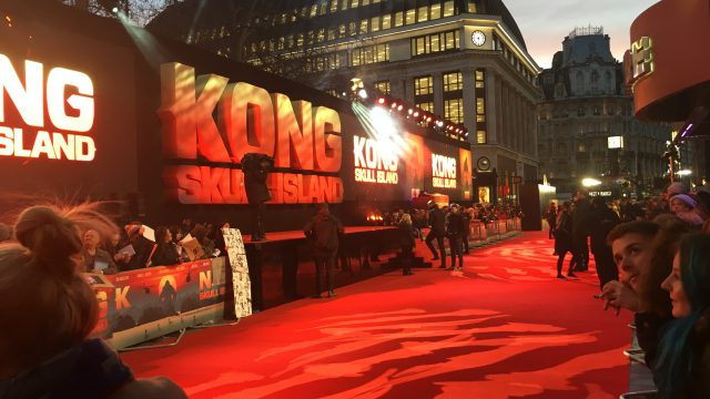 CHAUVET Professional Provides Larger Than Life Video Wall for King Kong Premier