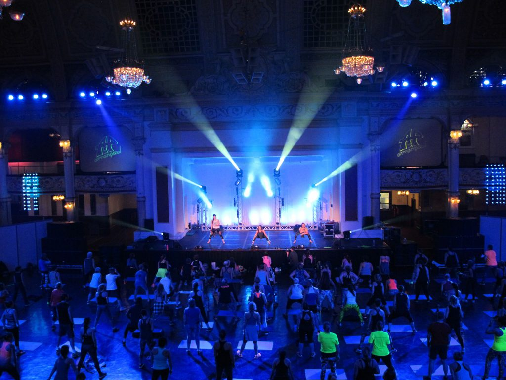 Chauvet Professional Provides Energetic Lighting For