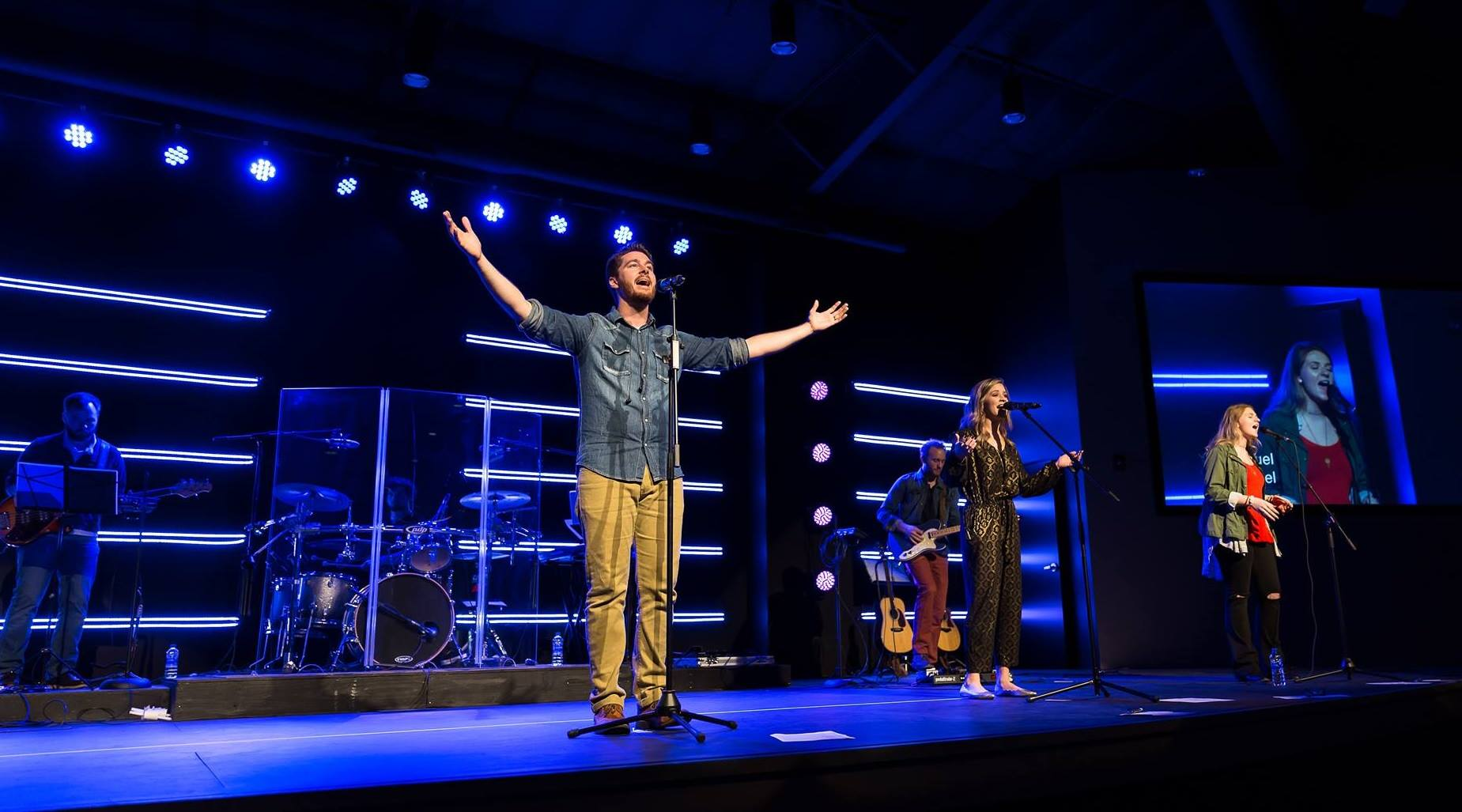 Db Integrations Lights Present And Future Church With