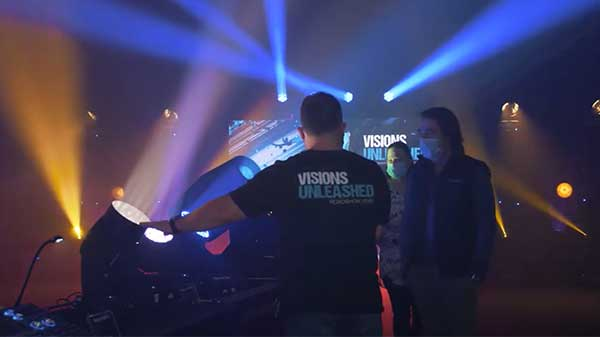 Tour Visions Unleashed 2020 with CHAUVET Professional